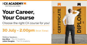 The CXA Social Webinar Your Career Your Course